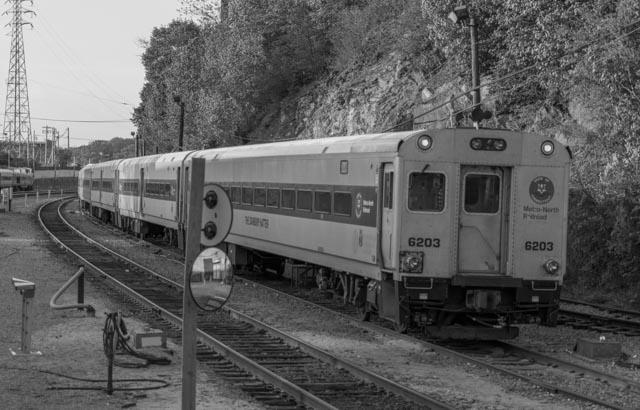 Shot at a Metro North Rail YArd
